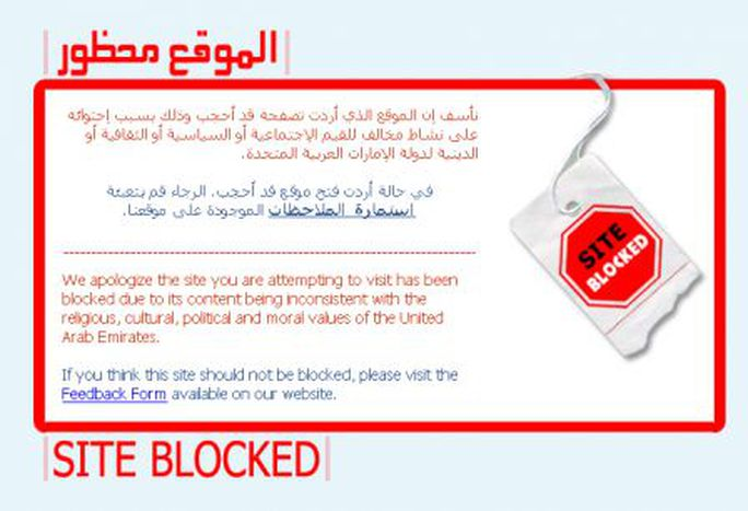Image for Facebook ban in the UAE: thank you Etisalat