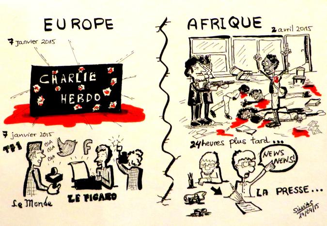 Image for Charlie Hebdo i zamach w Kenii - ten sam terroryzm, nie ta sama reakcja
