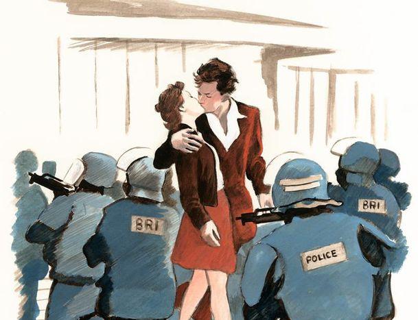 """Image for Manuele Fior:un omaggio a colori per la Francia """"ferita"""""""