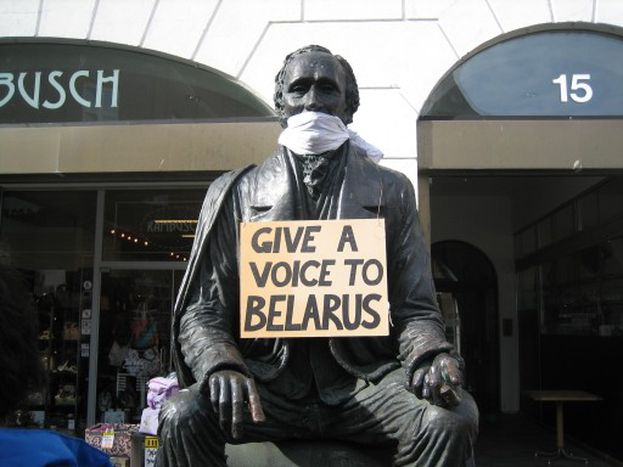 Image for Free Belarus Action – as silent as a loud voice for democracy
