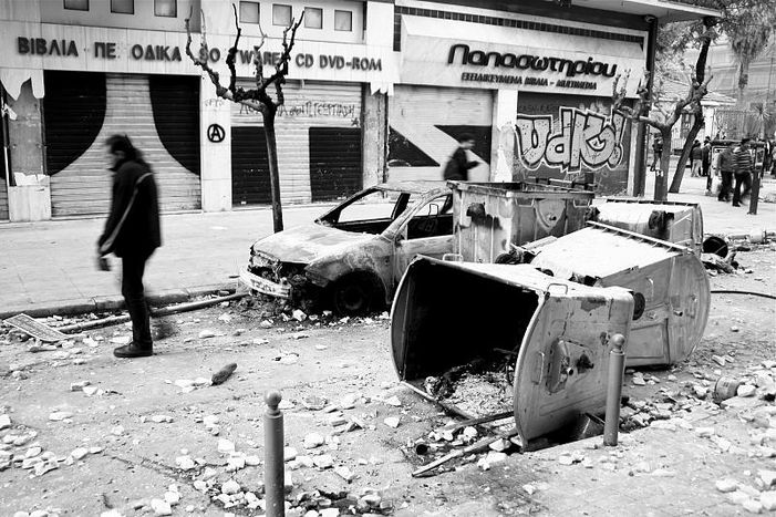 Image for Młodzi w Grecji: przemoc w imię edukacji