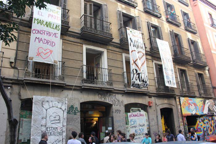 Image for Culture à Madrid: échec et squat