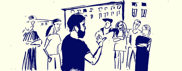 Image for J'ai visité Berlin avec un guide réfugié syrien