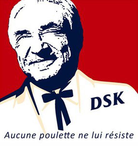 Image for DSK, de nouveau présidentiable ? Banon.