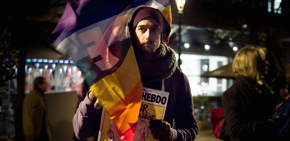 Image for Images : les rassemblements #JeSuisCharlie en Europe