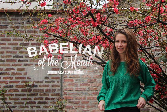 Image for La Babélienne du mois : Hélène Pillon