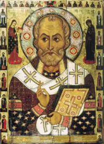 Image for St. Nicolas, Santa Claus or St. Basil ??