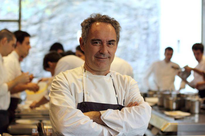 Image for Ferran Adria, culinary avant-garde