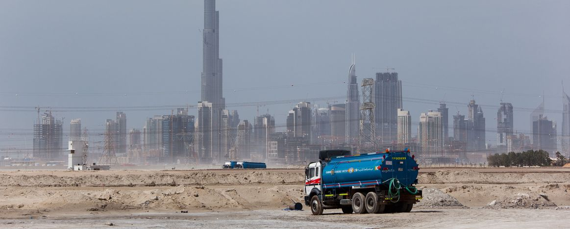 Image for Constructing Dubai - the poor side of the city