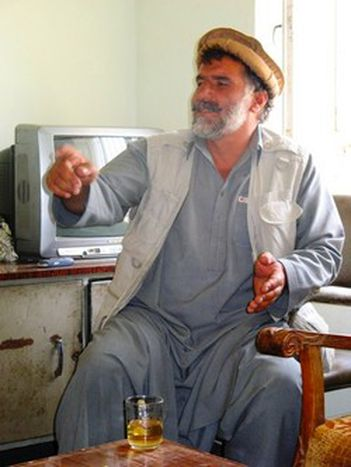 Image for Mujahideen Khan: 'we do not know who the Taliban is right now'
