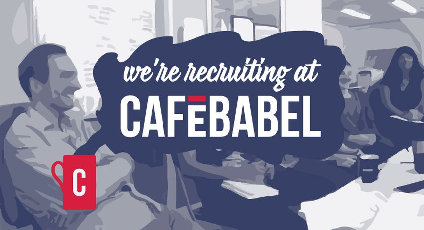 Image for JOB! Cafébabel recruits Communications and Partnerships Officer (apply before 18 September 2015)