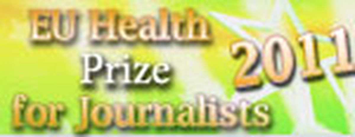 Image for You're a journalist and you're interested in Health issues ?