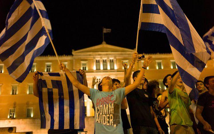 Image for La Grèce au centre de l'attention européenne