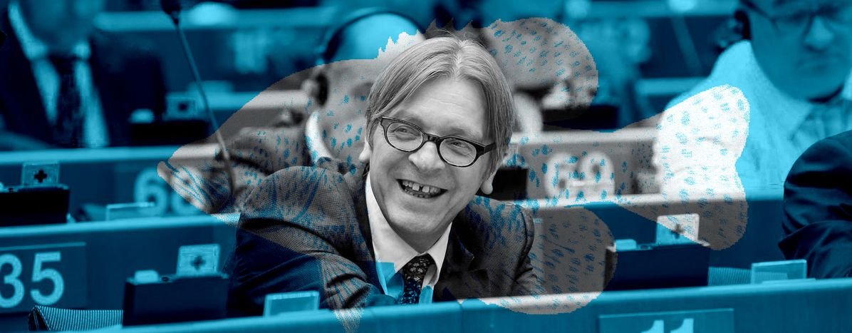 """Image for Guy Verhofstadt: """"I always wanted to become an actor"""""""
