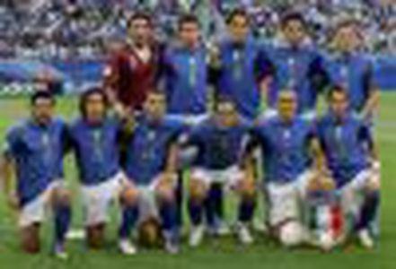 Image for EURO 2008: Die Seniorenmannschaft aus Italien