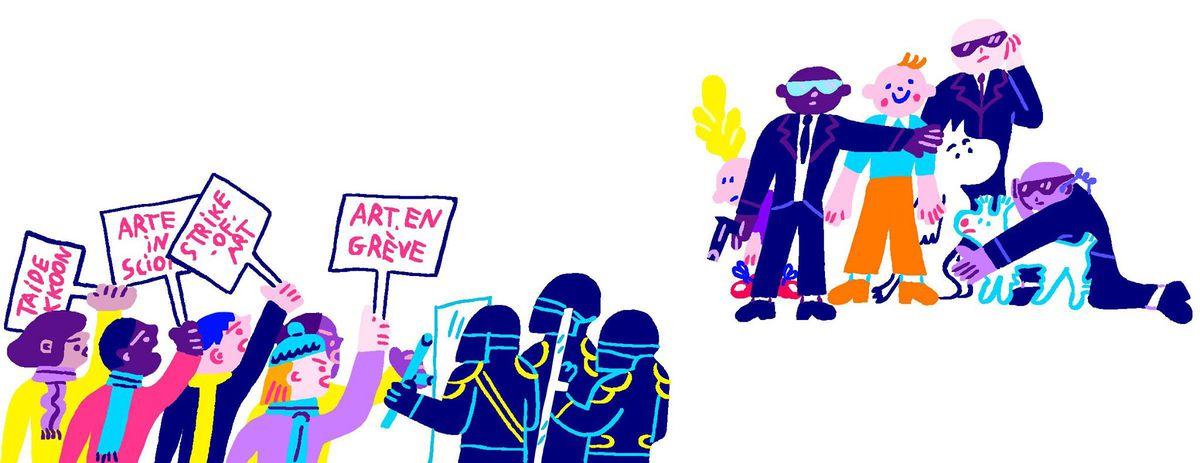 Image for L'Europa dei fumetti? È piena di precarietà