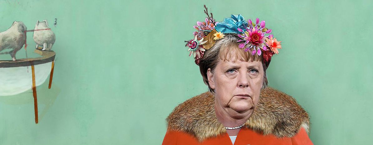 Image for Angela Merkel contrataca