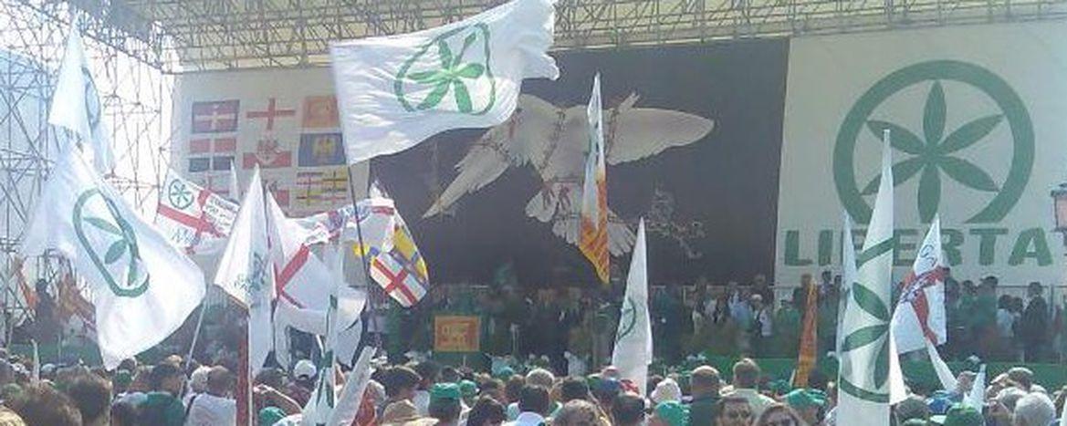 Image for La macchia verde della Lega Nord