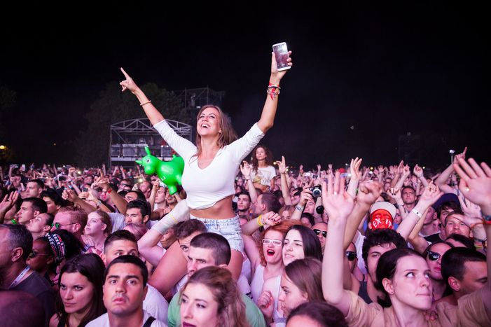 Image for Serbia's Exit festival:betweenactivism and commercialism