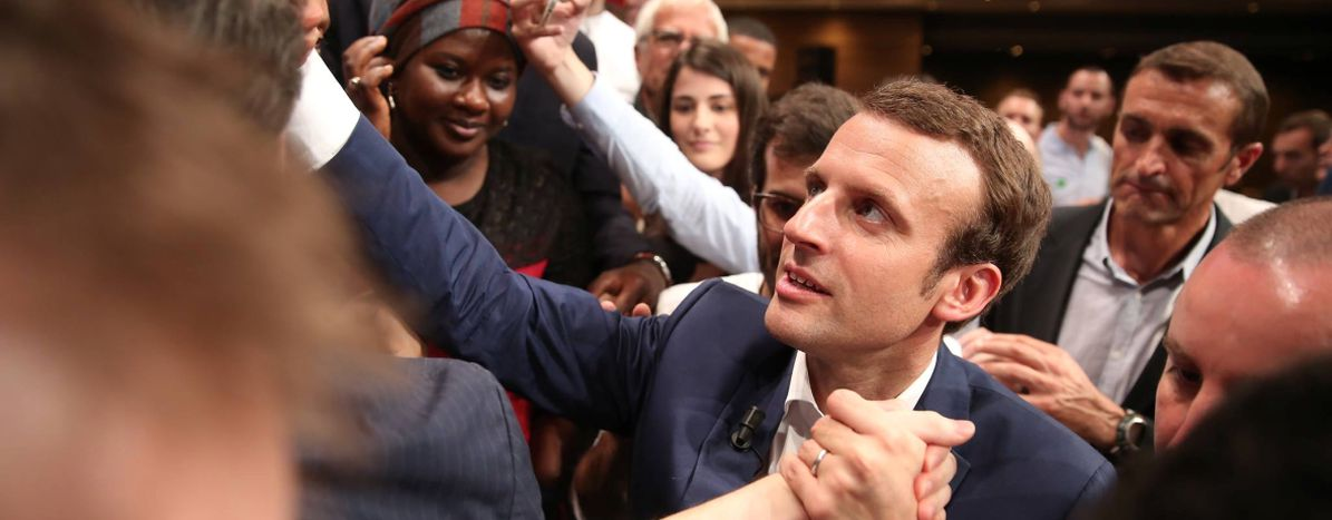 Image for Can Emmanuel Macron save France from Marine Le Pen?