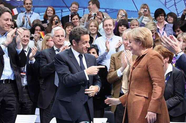 Image for Europa: Merkel und Sarkozy zurück in die Zukunft