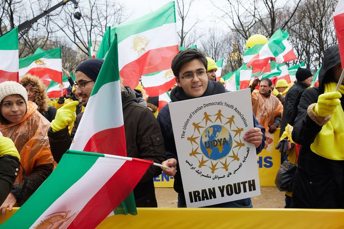 Image for La journée internationale des droits de l'homme célébré par une marche pour l'Iran