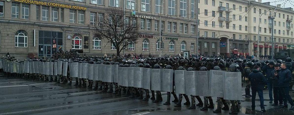 Image for La represión vuelve a protagonizar las movilizaciones ciudadanas de Belarús