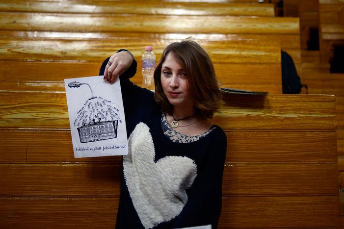 Image for Student rhapsody against Viktor Orban's government