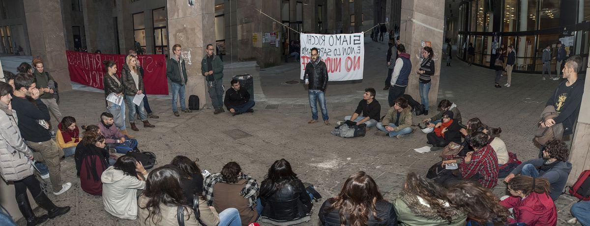 Image for Contro il nuovo ISEE:gli studenti alla ricerca di risposte ottengonoquelle della Digos