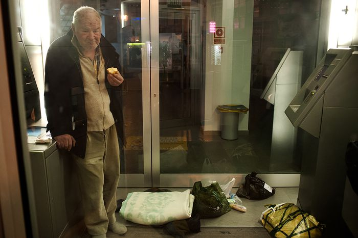 Image for spain in crisis: homeless in alicante