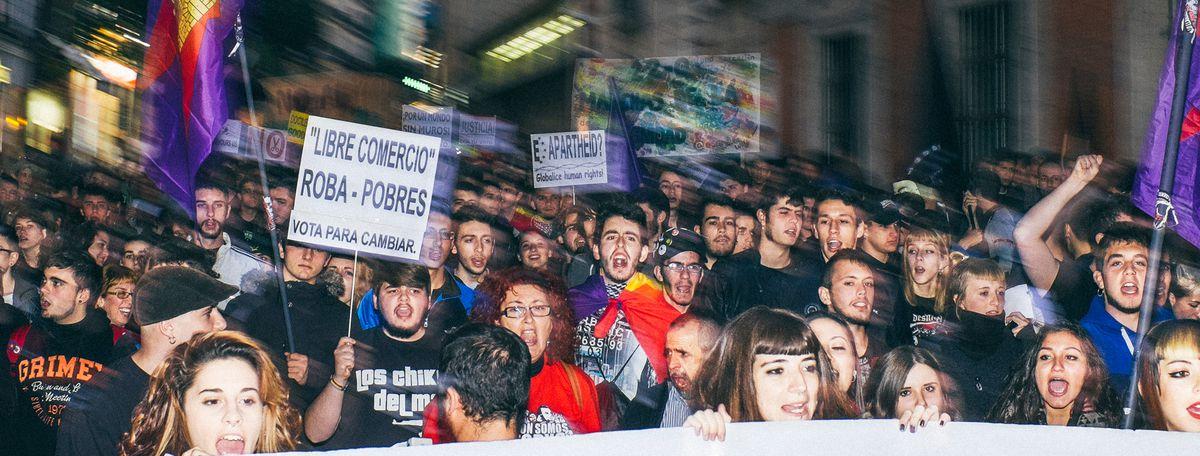 Image for Cyber-democraziaa Madrid: la partecipazionesi muove online?
