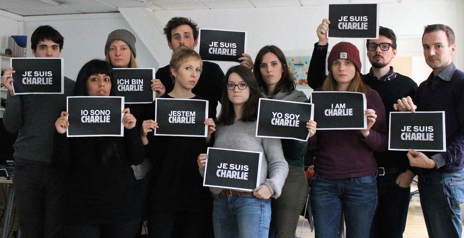 Image for Cafébabel Expresses Solidarity with Charlie, #IamCharlie