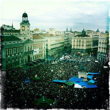 Image for 'Real democracy NOW!': #spanishrevolution becomes #europeanrevolution