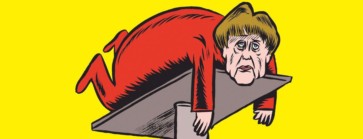 Image for Charlie Hebdo va-t-il détendre l'Allemagne ?