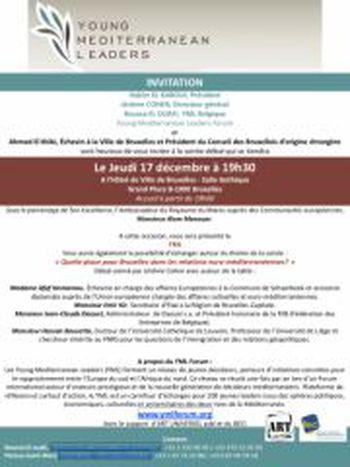 Image for Soirée-débat Young Mediterranean Leaders Forum