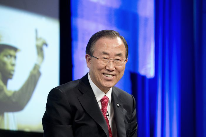 Image for Ban Ki-moon: a rock star at Bozar !