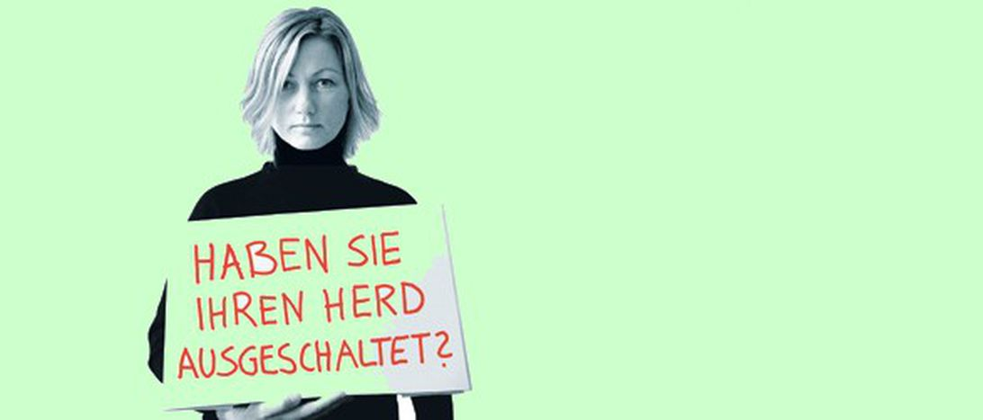 """Image for """"Beruhigt euch!"""": Humor essen Angst nicht auf"""