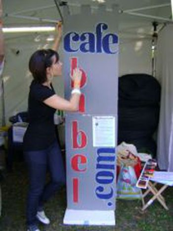 Image for Cafébabel were at Sziget Festival again - 2009 report