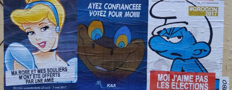 Image for J'aime pas les elections - alternative French presidential campaign posters