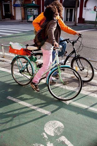Image for Rolling down 120km of bike lane in Seville