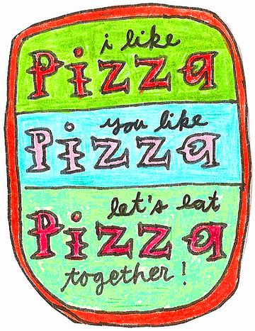 Image for Once upon a pizza