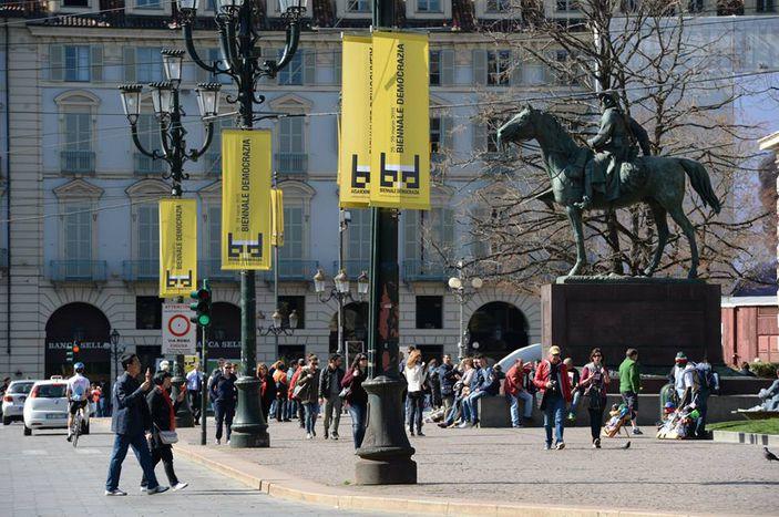 Image for La Democrazia è in festa, alla Biennale di Torino