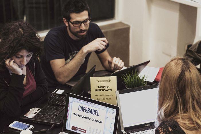 Image for Firenze,la redazione del mese di cafébabel
