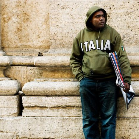 Image for Backstage: story of a Senegalese street vendor in Rome