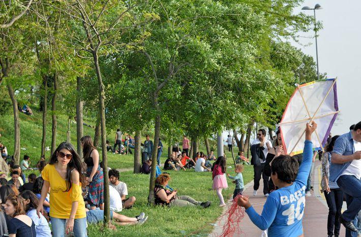 Image for Turquie : des cerfs-volants contre l'homophobie