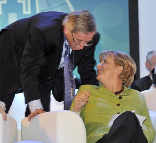 Image for A look back on what finally led Merkel to support Juncker