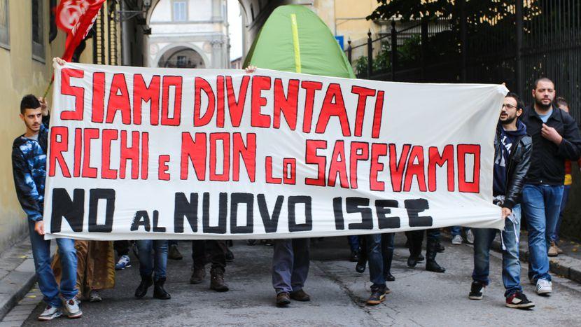 Image for Studenti contro il nuovo ISEE,continua la protesta