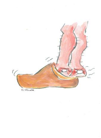 Image for Quand Ayrault met les deux pieds dans le même sabot