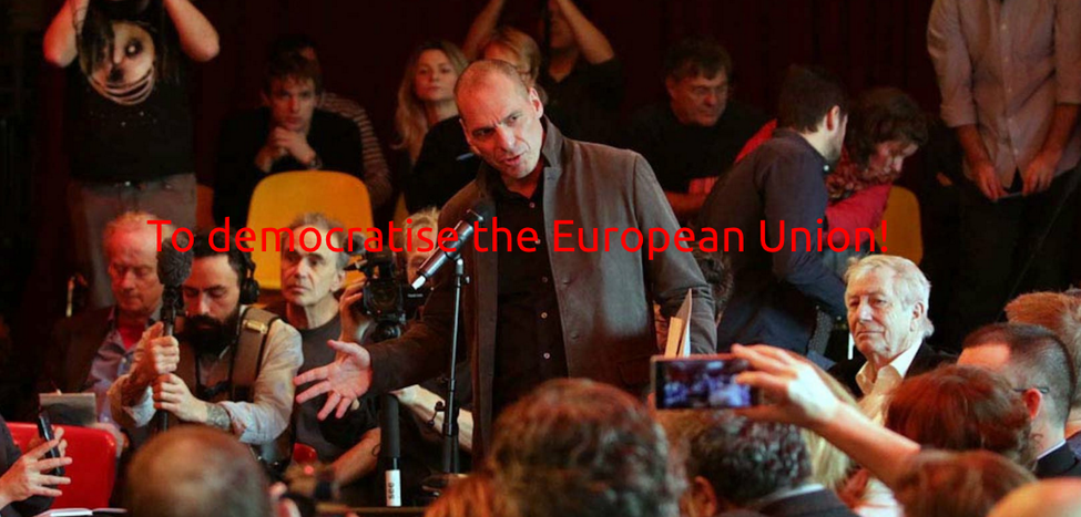 Image for DiEM25 – How Varoufakis wants to save Europe