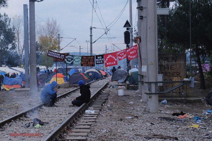 Image for Inmigrantes en Grecia:3 semanas en el gueto deIdomeni